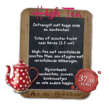 Solexverhuur en high tea